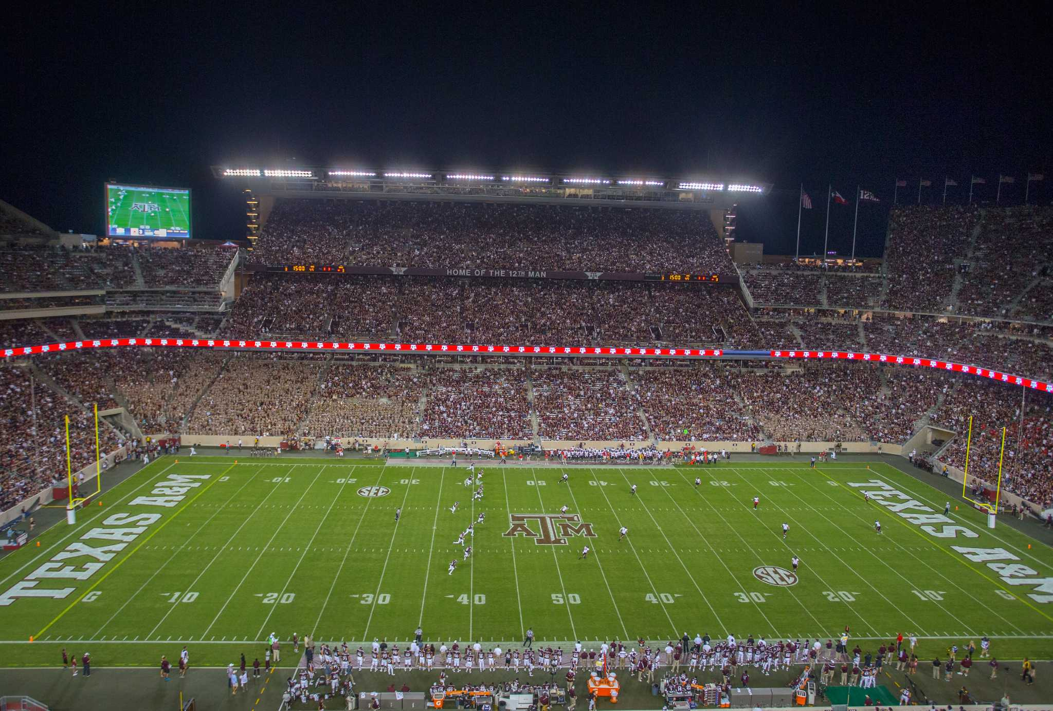 Kyle Field is viewed during an NCAA college football game between Ball 2048x1384