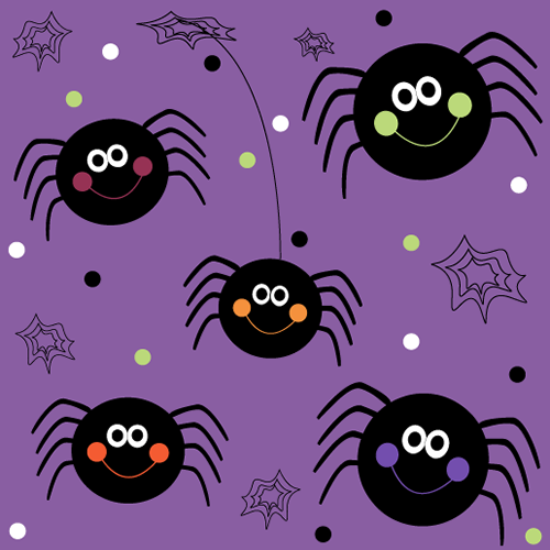 Cute Halloween Pattern Background Good Galleries 500x500