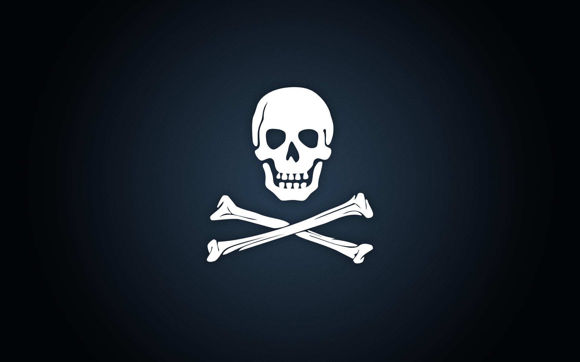 pirate stylish skull wallpaper 1920x1200