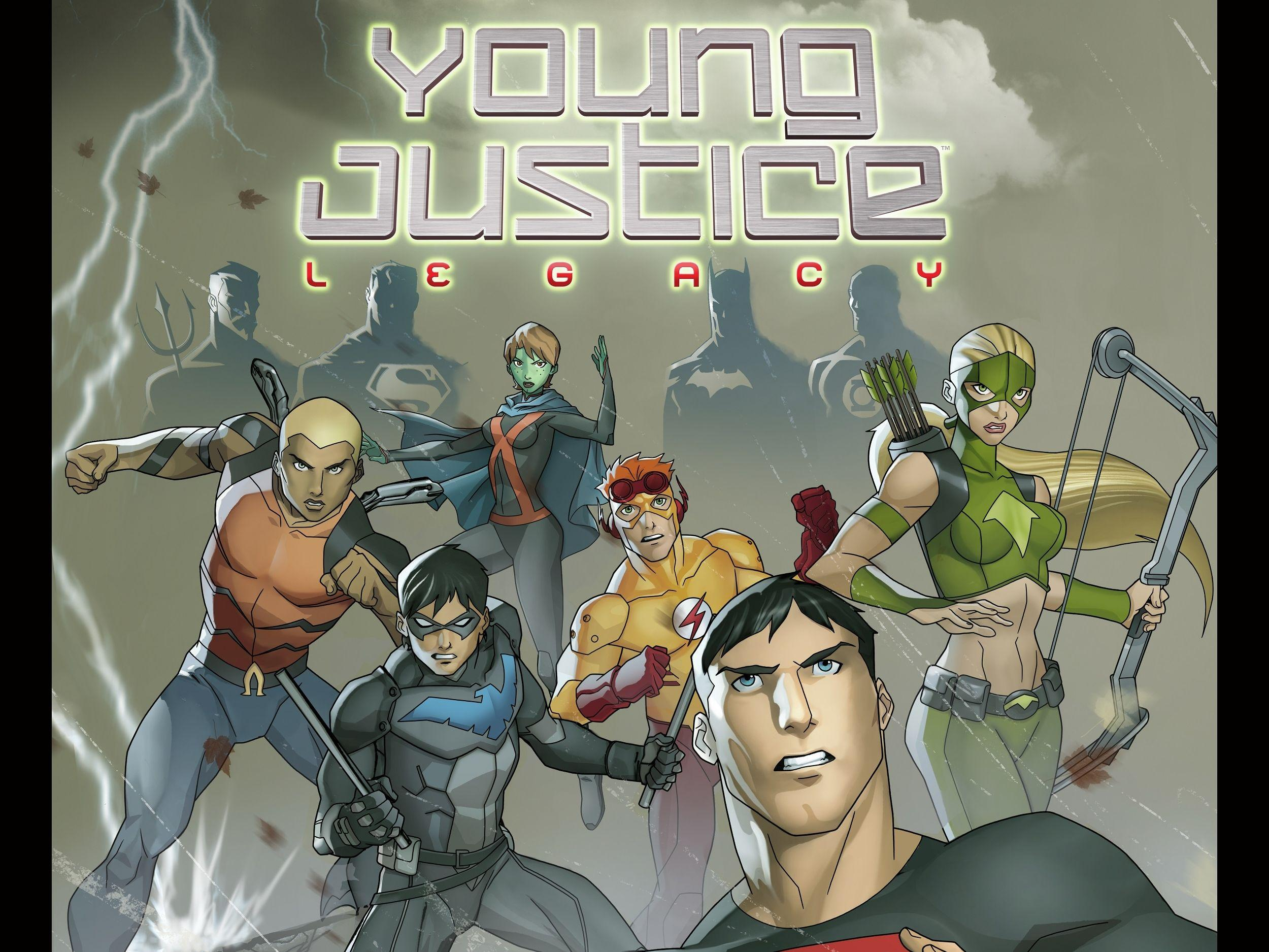 Young Justice Wallpapers 2500x1875