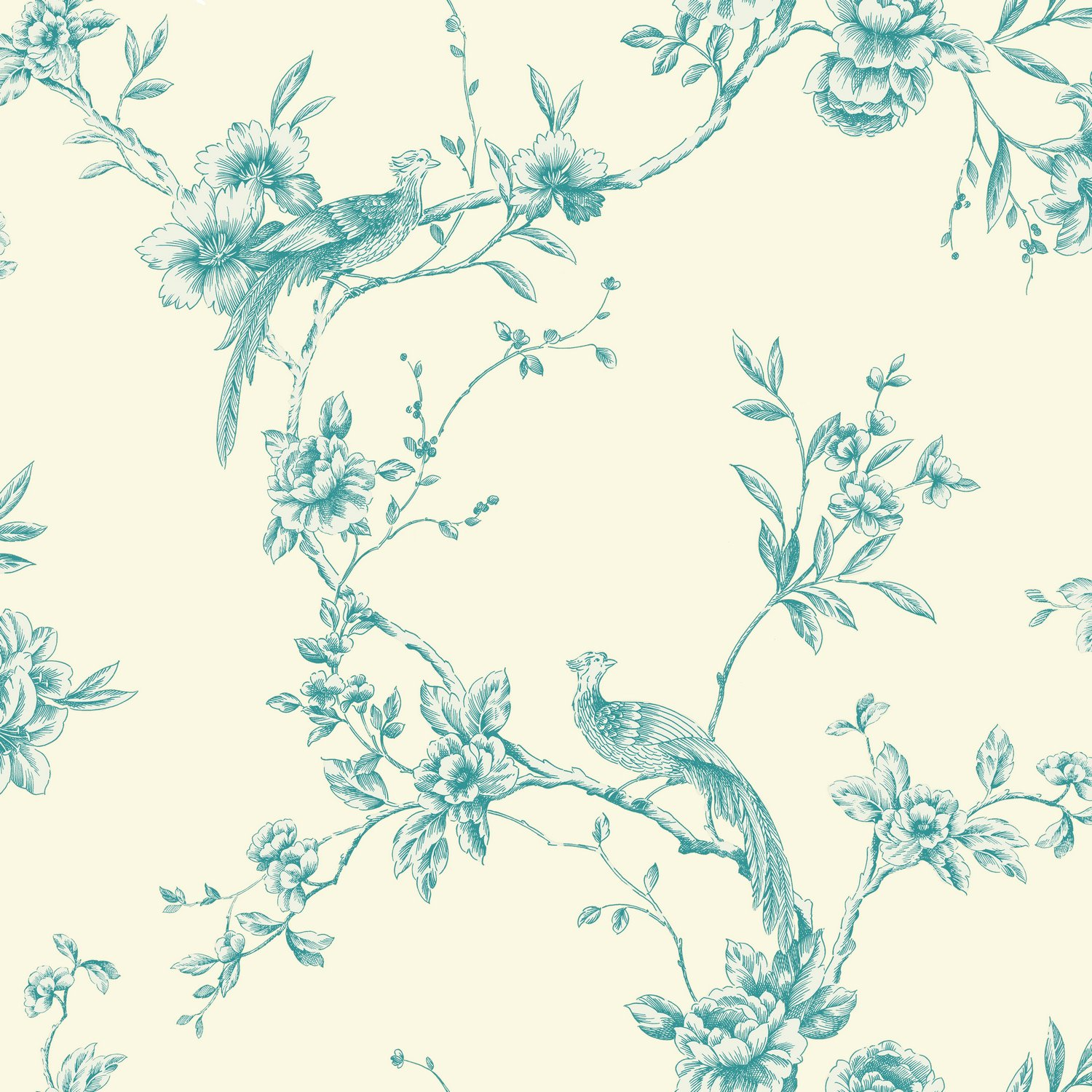 Arthouse 425003 Chinoise Wallpaper Teal 53 cm x 1005 m Amazon 1500x1500