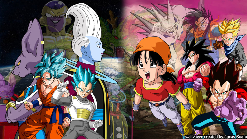 Dragon ball super wallpaper wallpapersafari - Dragon ball gt goku wallpaper ...