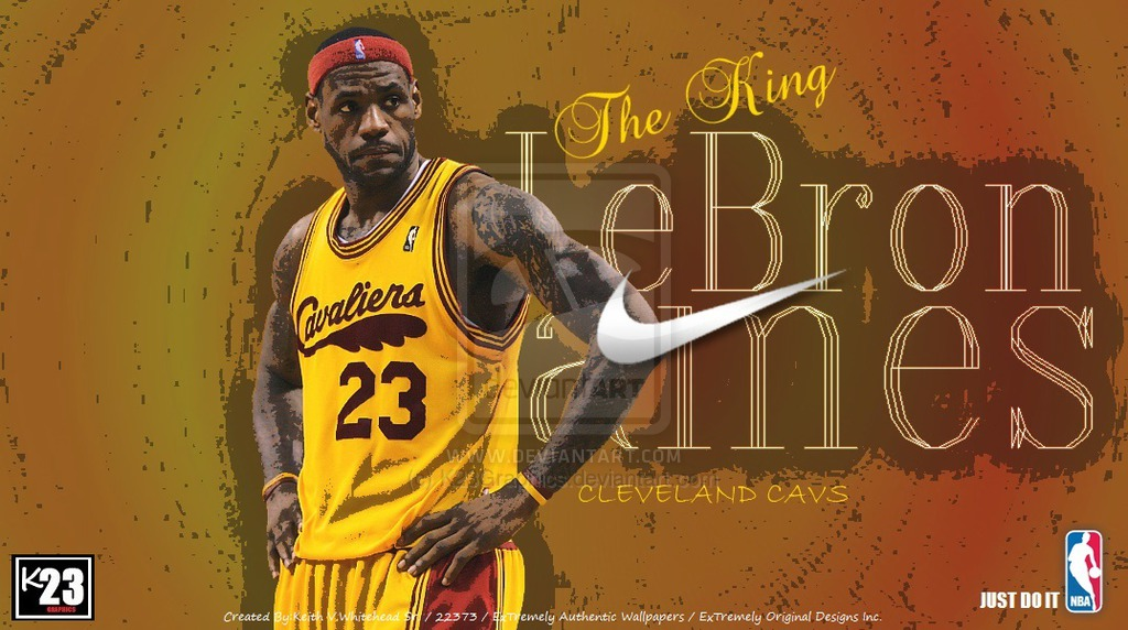 LeBron James 23 Cavs by K23Graphics 1024x572