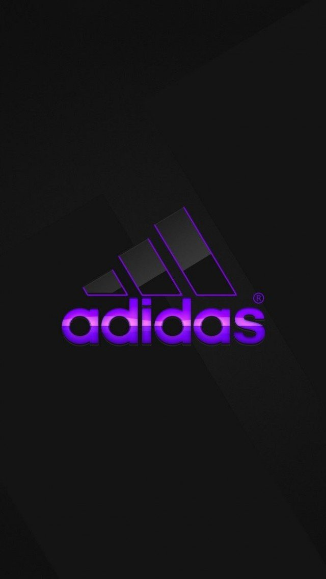 Adidas Wallpaper For Iphone Adidas logo purple wallpaper 640x1136