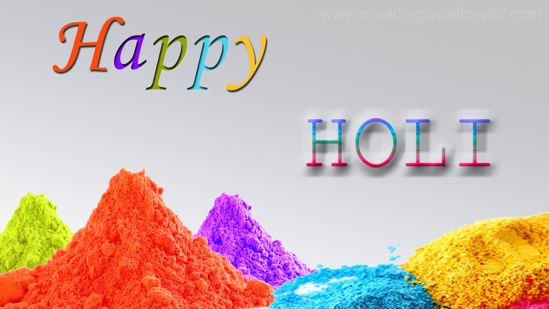 Happy Holi Images HD Wallpapers For Whatsapp DP FB 1920x1080