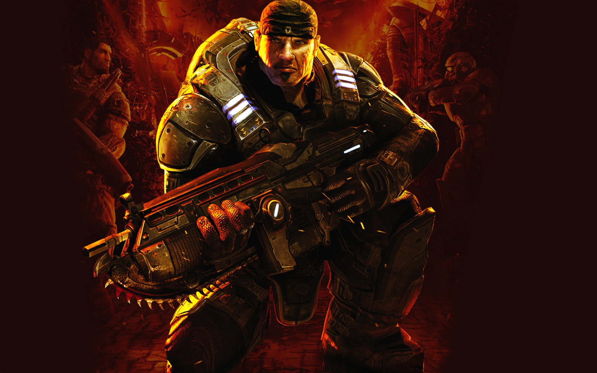 Gears Of War 3 Hd Wallpapers For Android: Gears Of War Wallpapers 1920x1200
