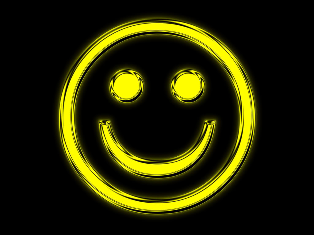 Smiley Face Background 1024x768