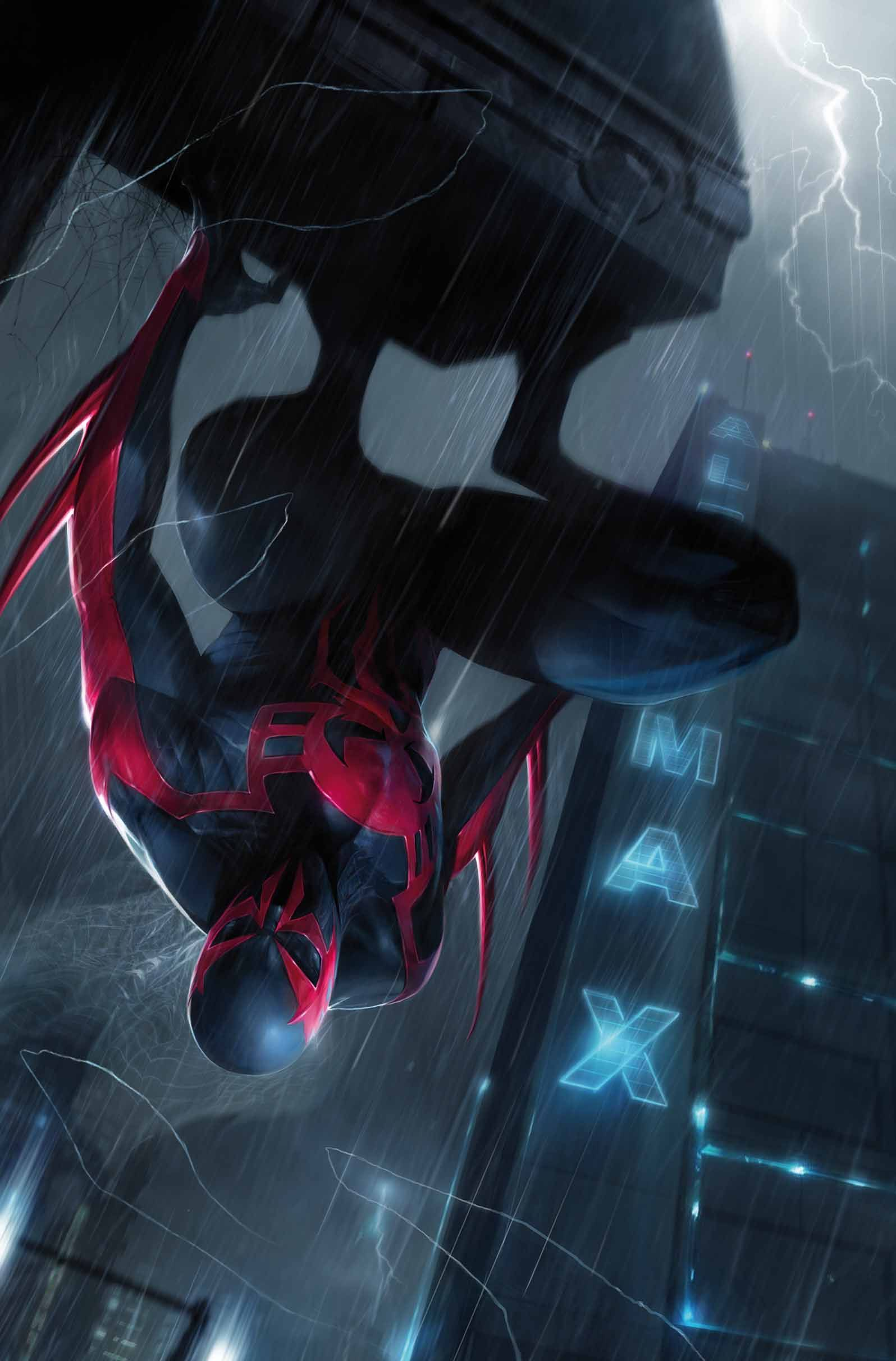 Spiderman 2099 Fan Art Spider Man 2099 11 Cover By 1596x2424