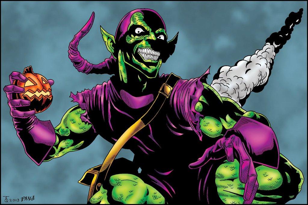 Green Goblin Wallpaper