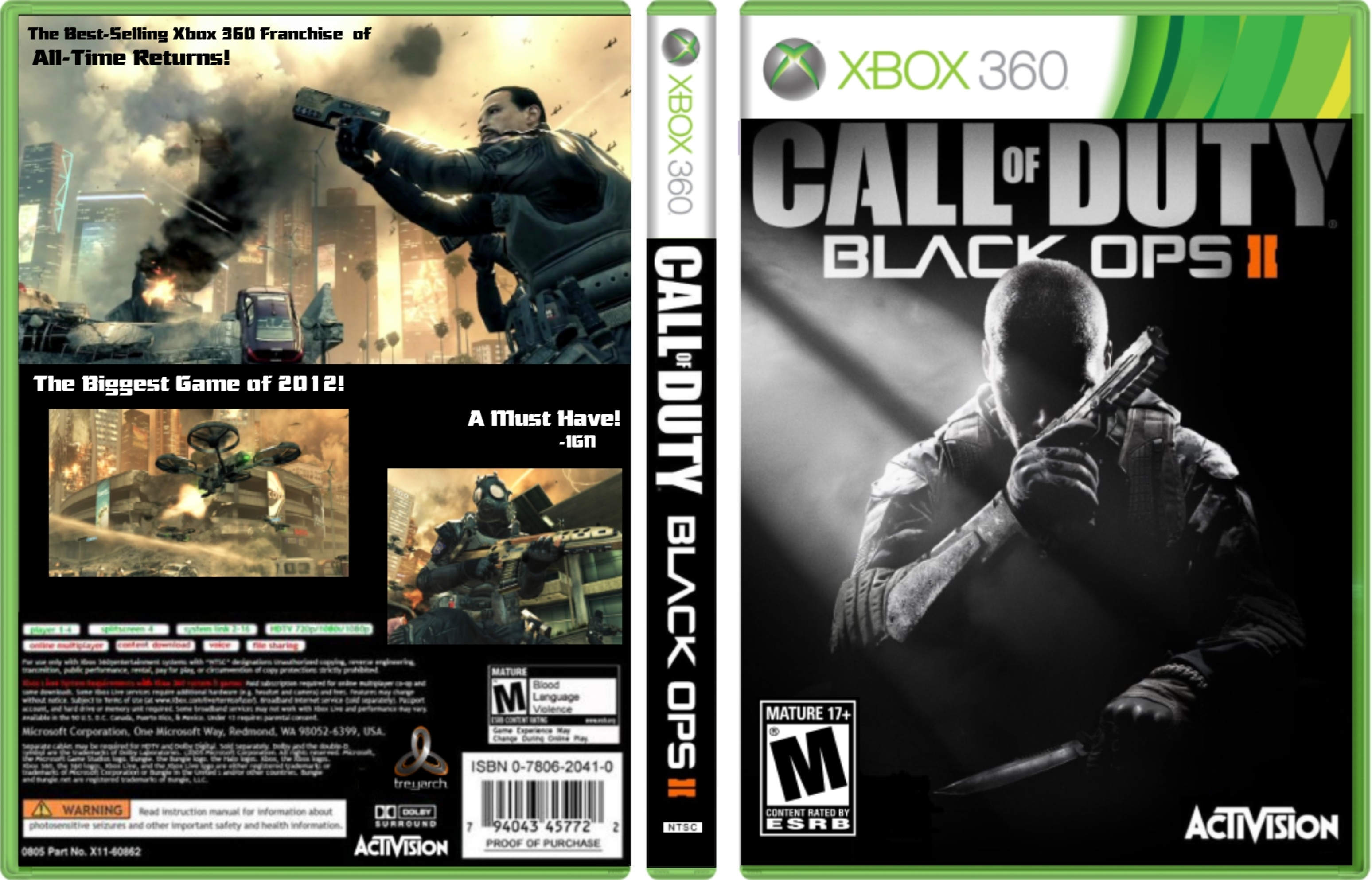 Free Download Call Of Duty Black Ops Xbox Covercall Of Duty Black