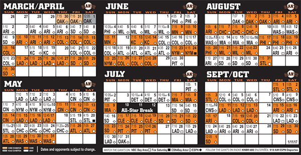 Sf Giants Schedule 2020 Printable.97 Sf Giants 2016 Schedule Wallpaper On Wallpapersafari