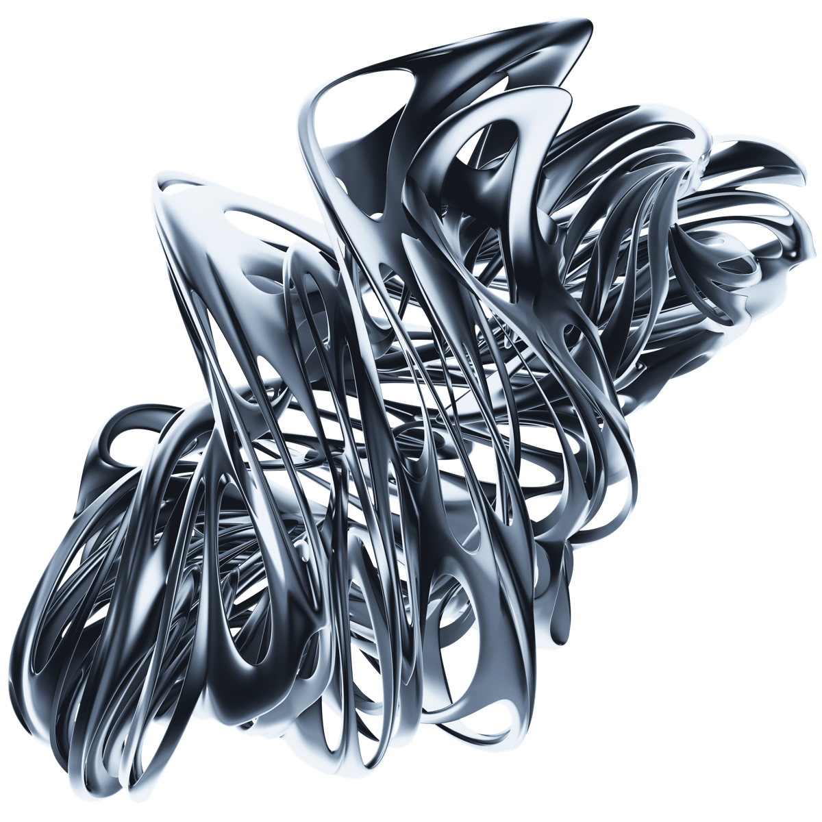 Skew 105 Warped 3D Shapes in 2019 Abstract Stock Art by Chroma 1200x1200