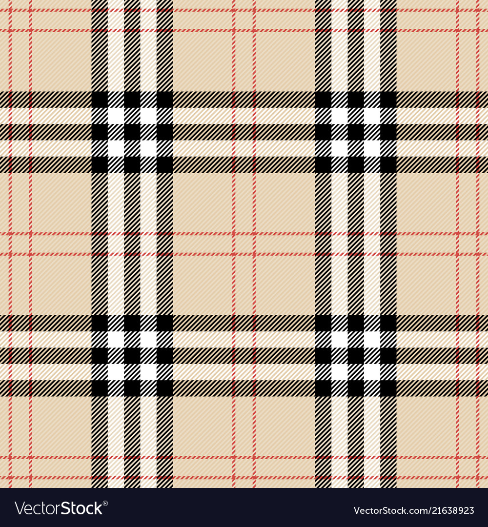 Burberry plaid scottish cage background Royalty Vector 1000x1080
