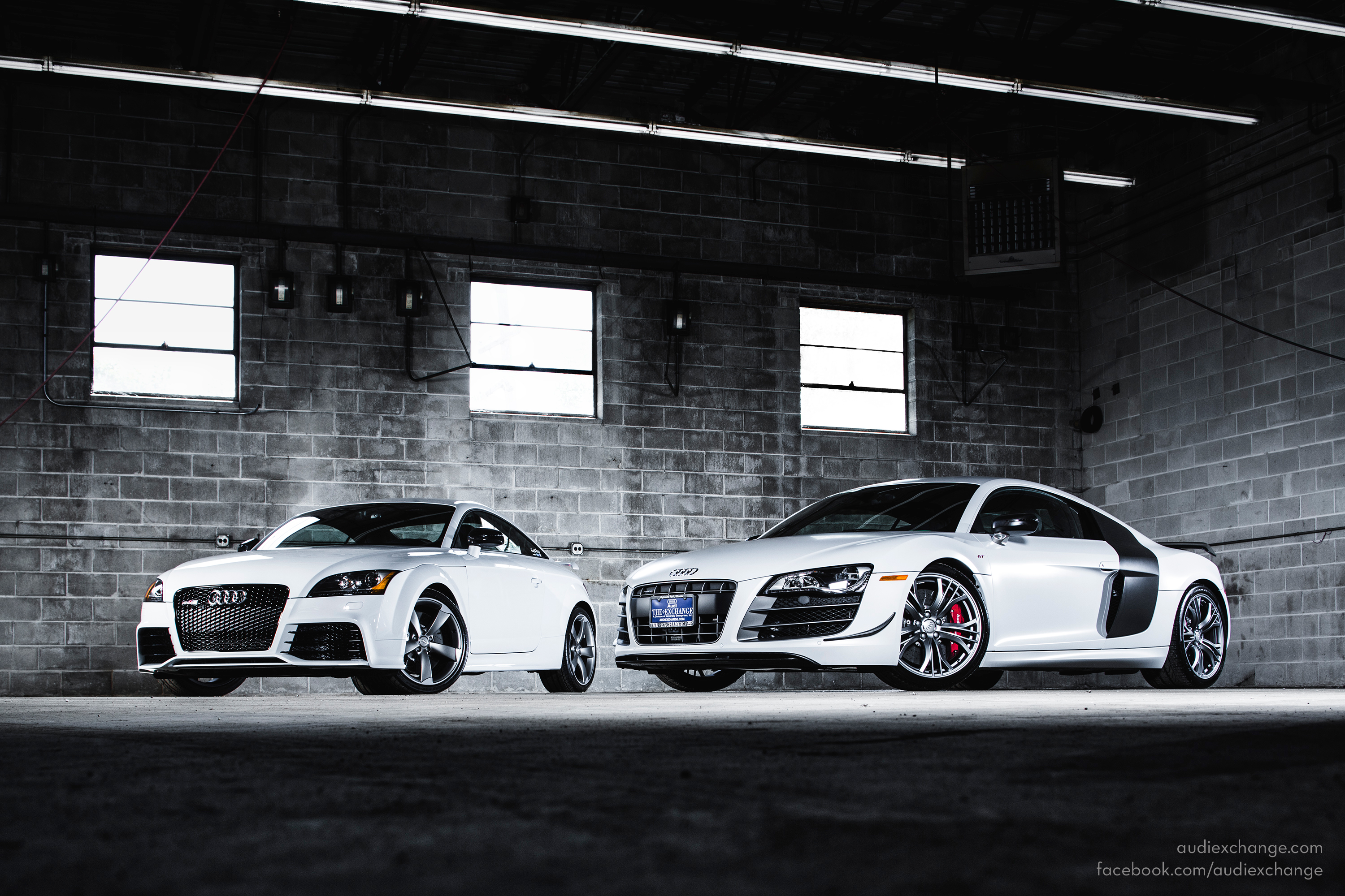 Audi TT RS and R8 GT wallpaper from The Audi Exchange   Fourtitudecom 3000x2000
