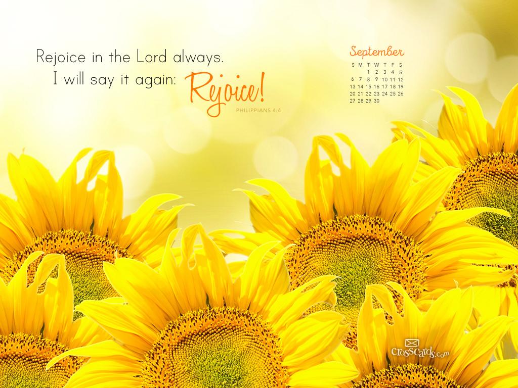 September 2015   Philippians 44 Desktop Calendar  Monthly 1024x768