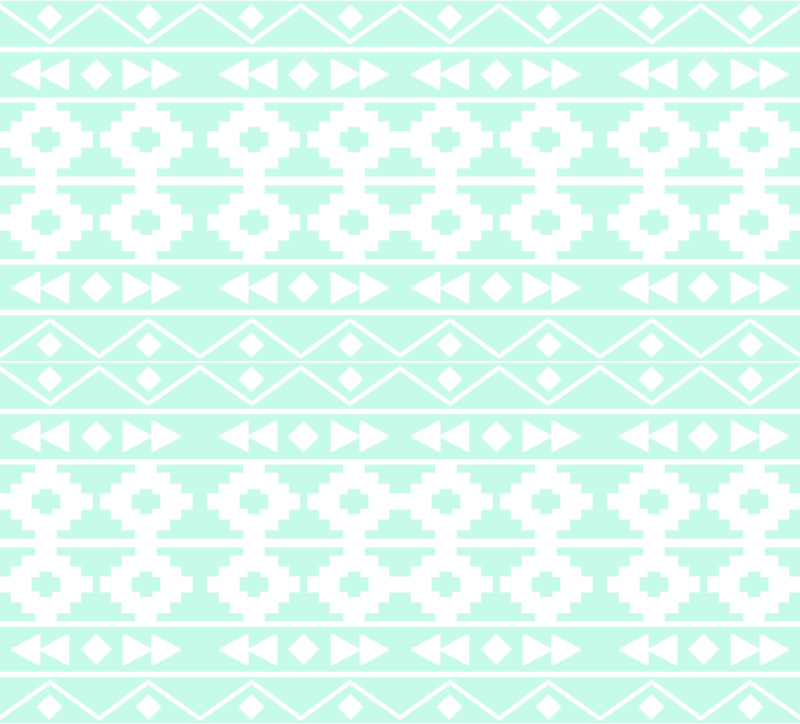 mint green aztec wallpaper 800x724