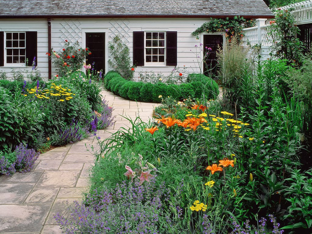 English garden wallpaper Downloade Pic Gallery 1024x768