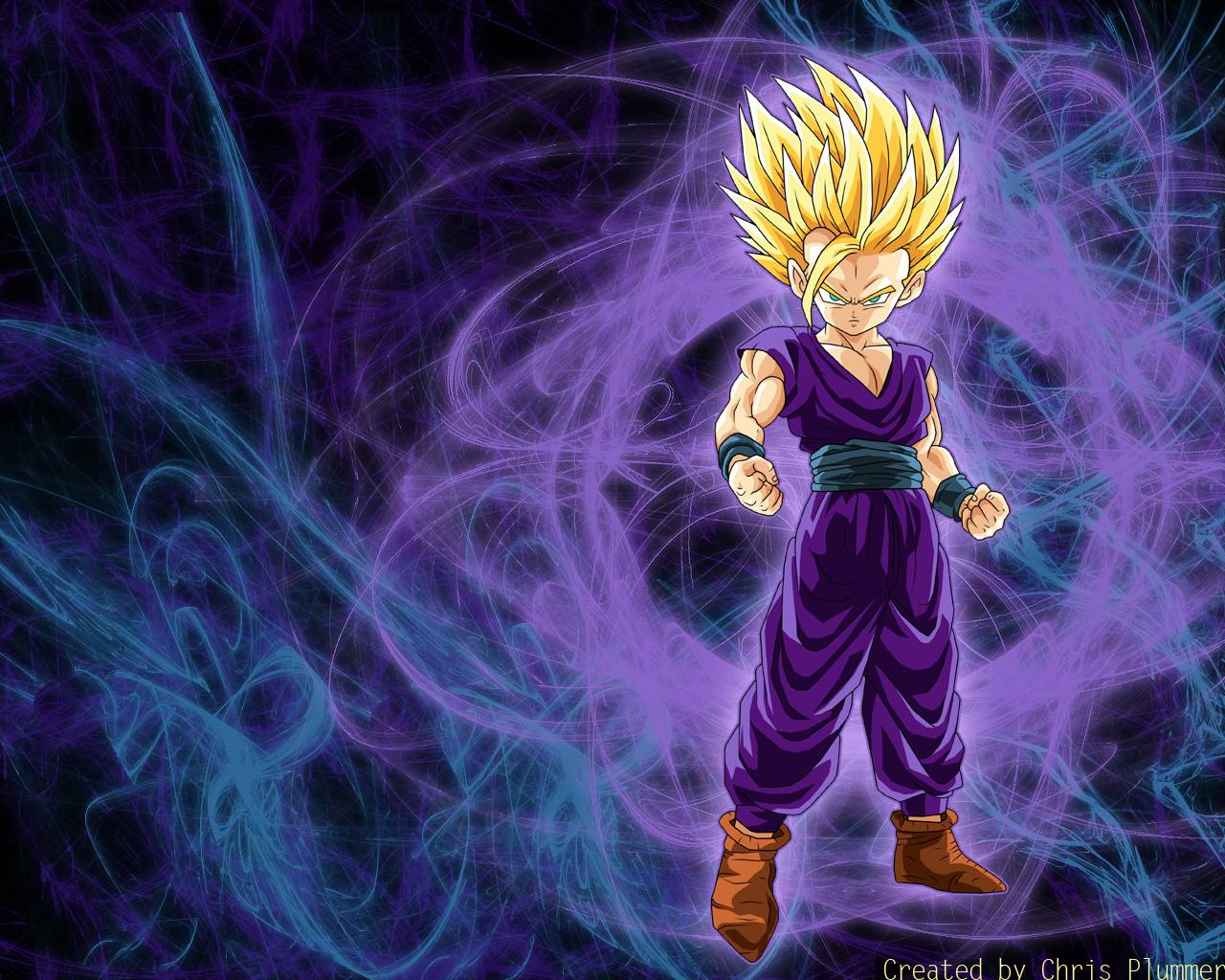 76 Ssj2 Gohan Wallpaper On Wallpapersafari