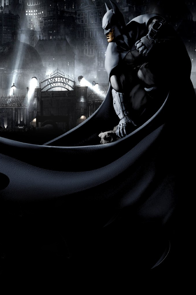 iPhone iBlog Batman Arkham City iPhone 4 Wallpapers 640x960