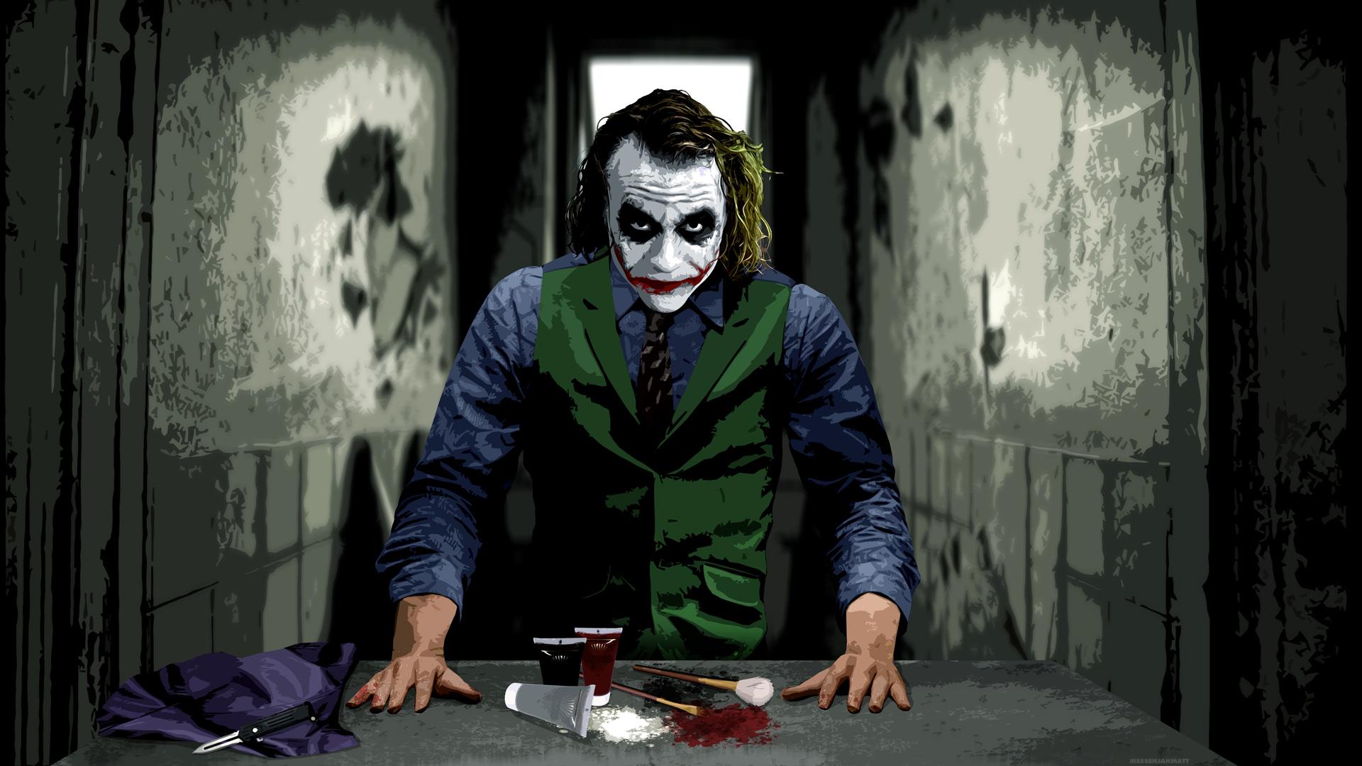 The Joker Wallpaper 1920x1080 The Joker 1920x1080