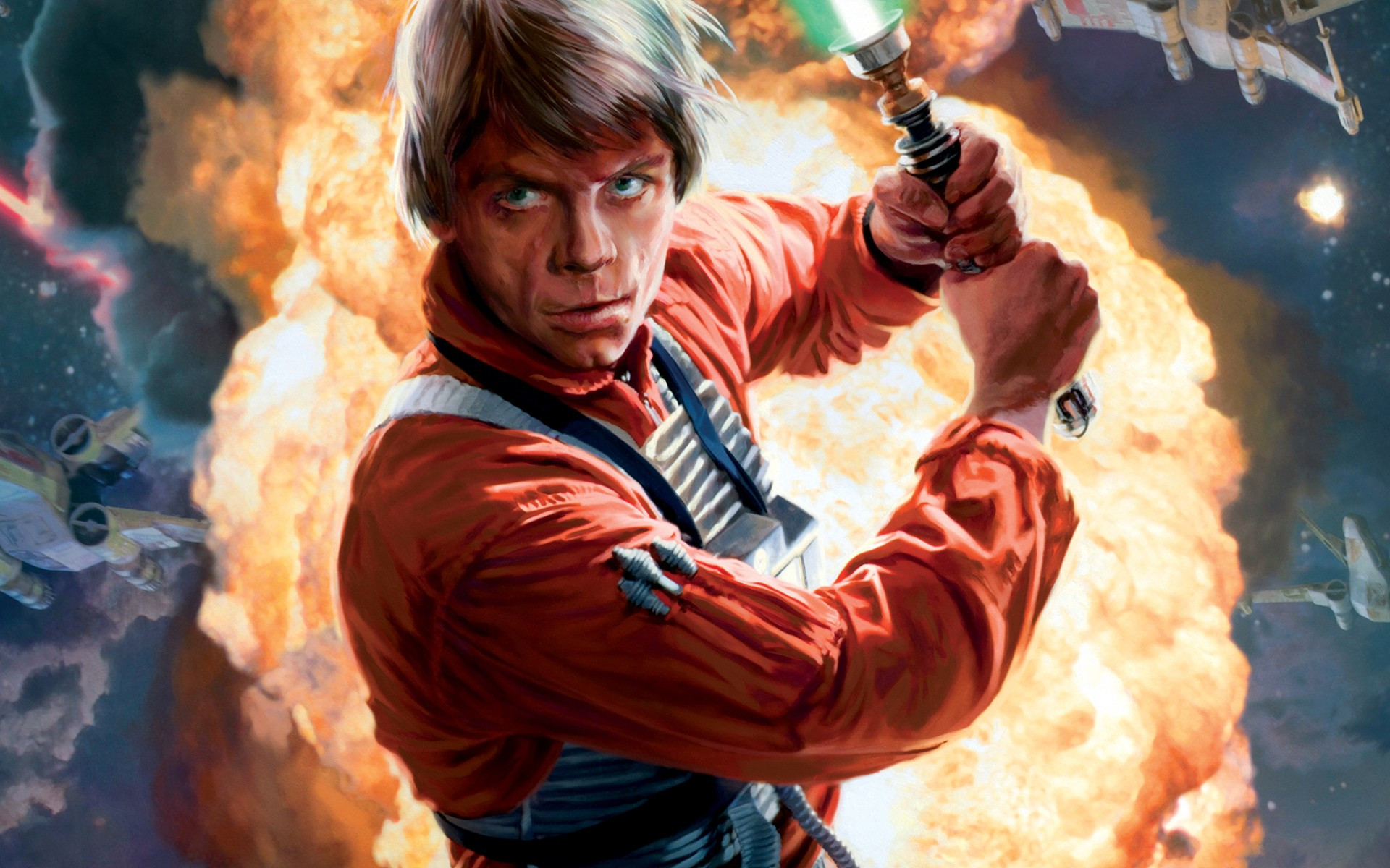 Luke Skywalker wallpaper 5137 1920x1200