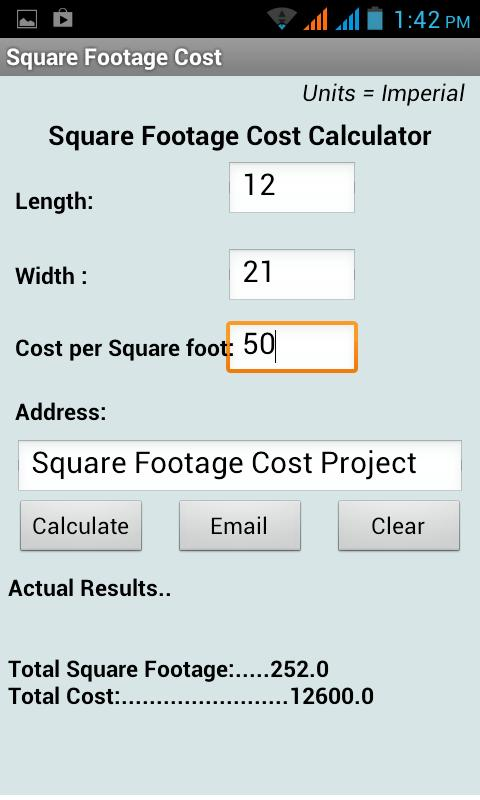 Square Footage Calculator Android Apps on Google Play 480x800