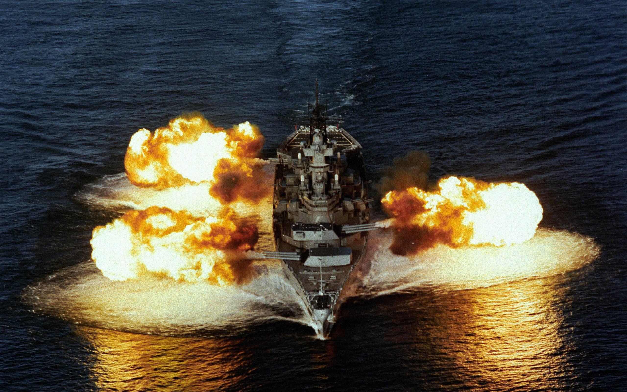 battleship firing source http freecodesource com wallpapers wallpaper 2560x1600