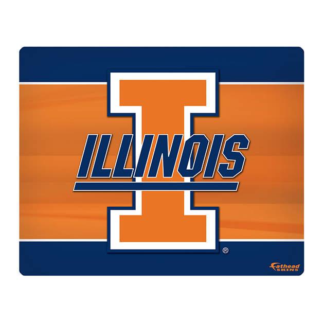 Illinois Fighting Illini Logo 1516 Laptop Skin Shop Fathead for 628x628