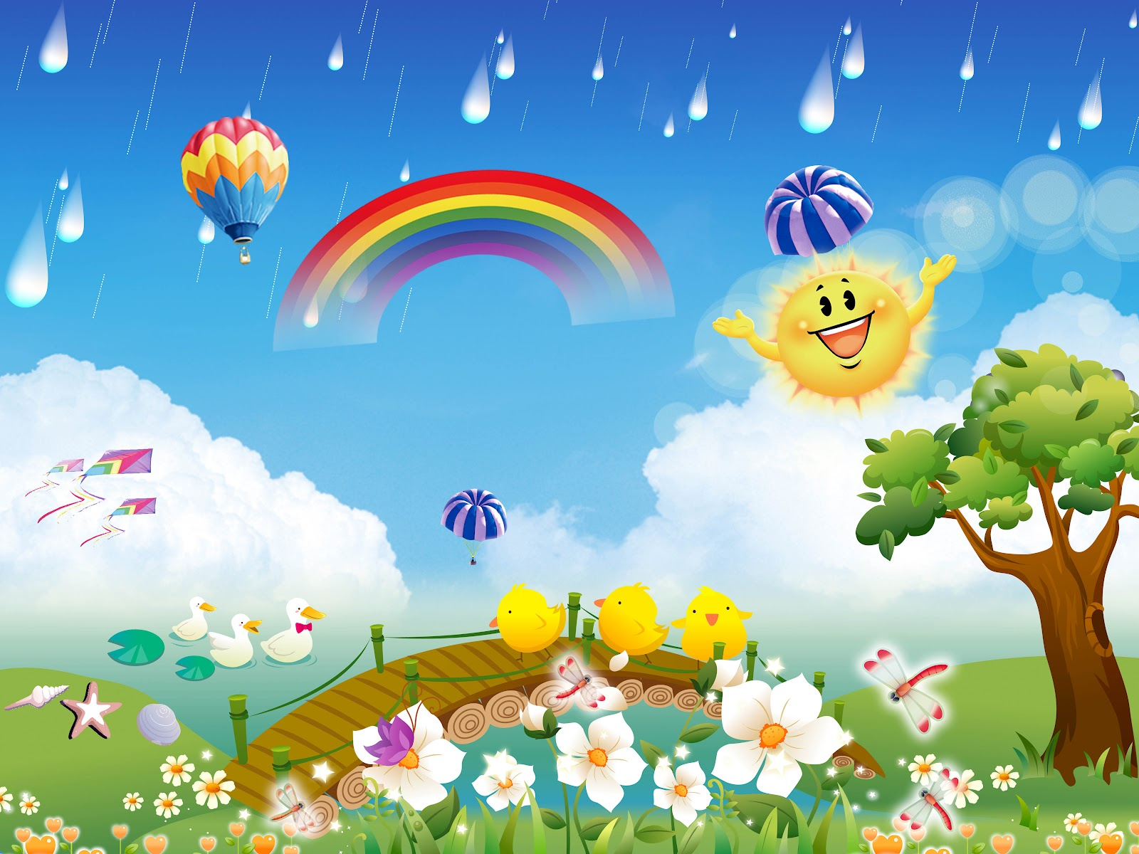 Wallpaper for kids wallpapersafari for Kids wallpaper