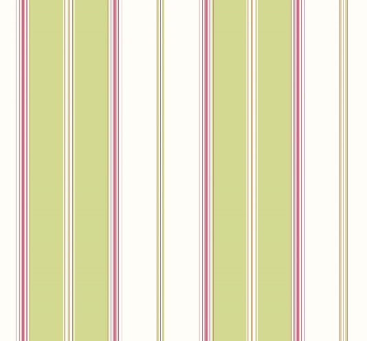 white striped wallpaper with narrow stripes in fuschia pink green and 534x497