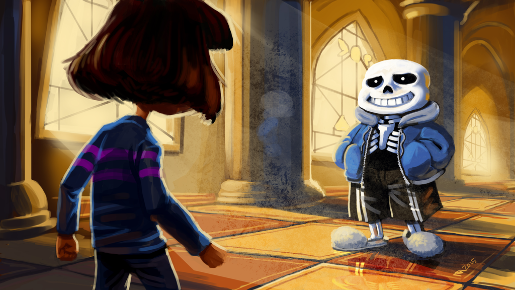 Undertale   You Will Be Judged by squidbunny 1024x576