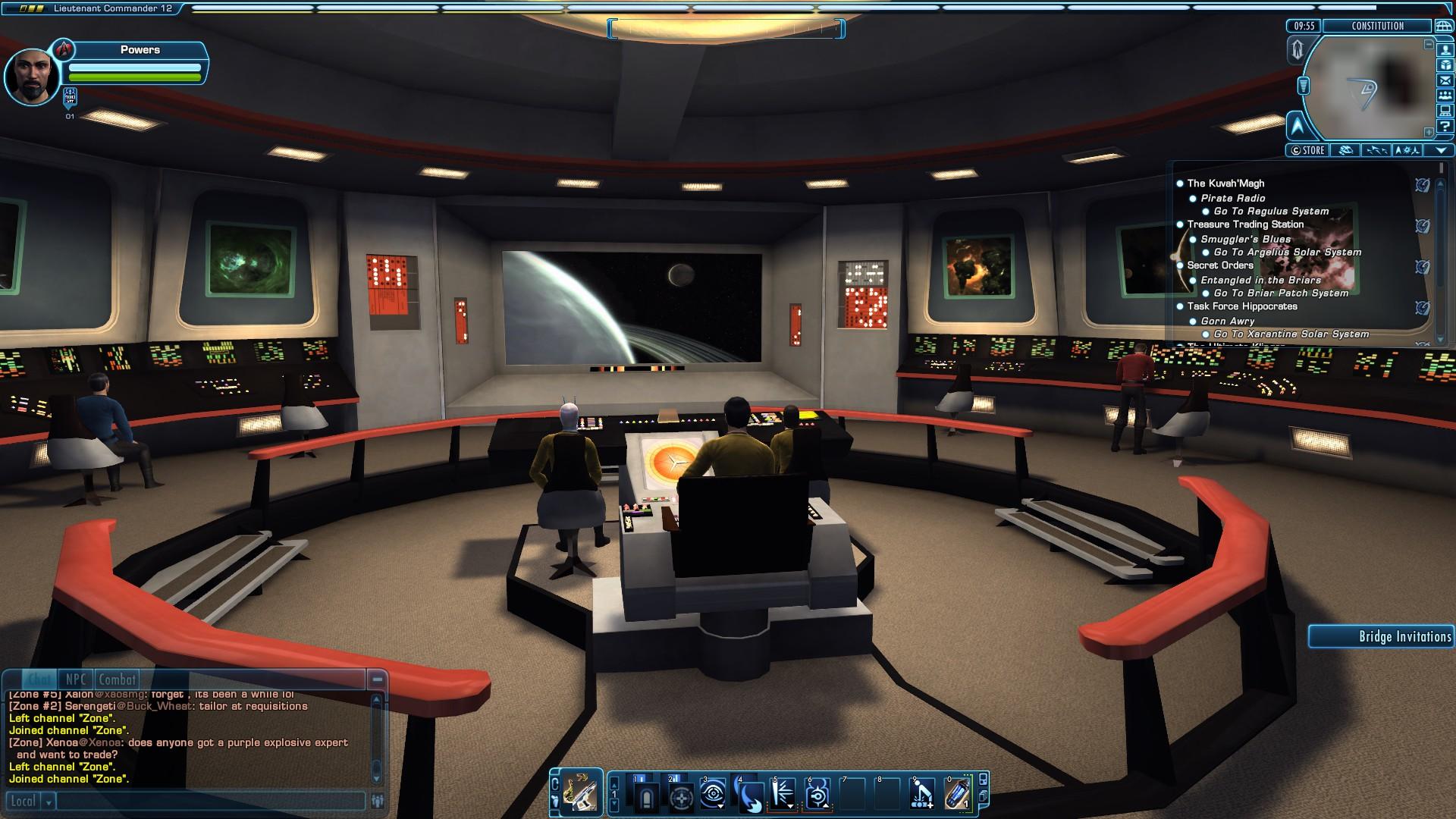 Download Star Trek Bridge Wallpaper Gallery