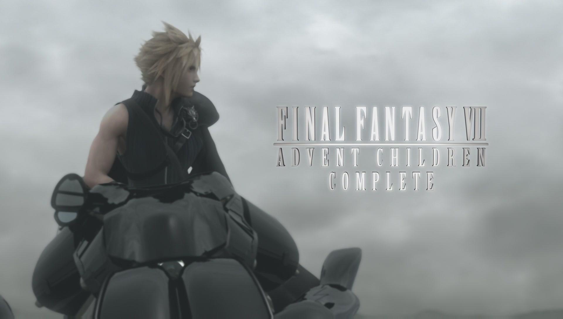 Final Fantasy VII Advent Children Complete Full HD 1920x1088