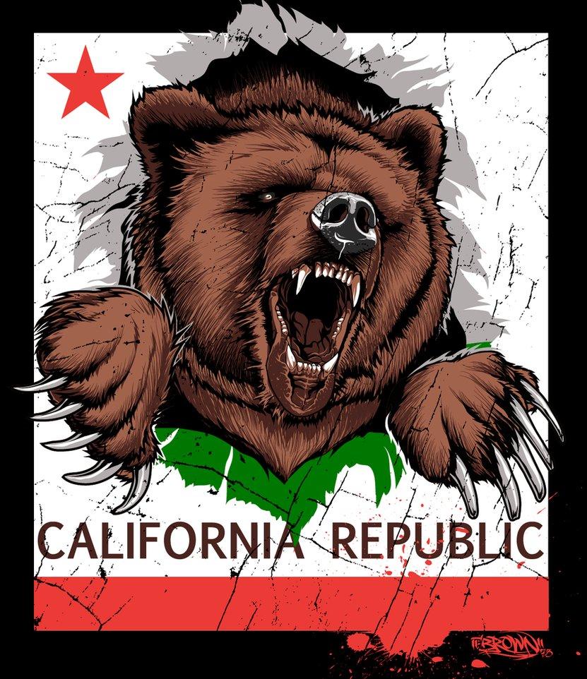 CALI BEAR by BROWN73 831x962