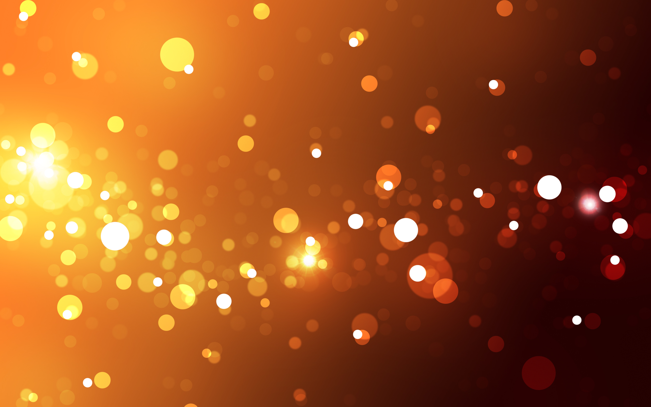 Abstract Lights Wallpaper 2560x1600 Abstract Lights Orange 2560x1600