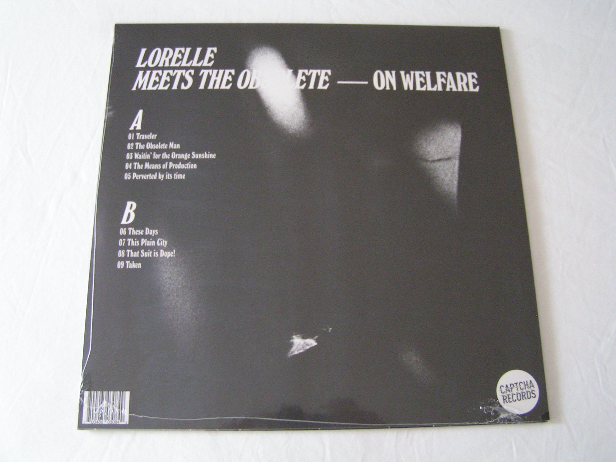 LORELLE MEETS THE OBSOLETE On Welfare LP NewSealed w download 2048x1536