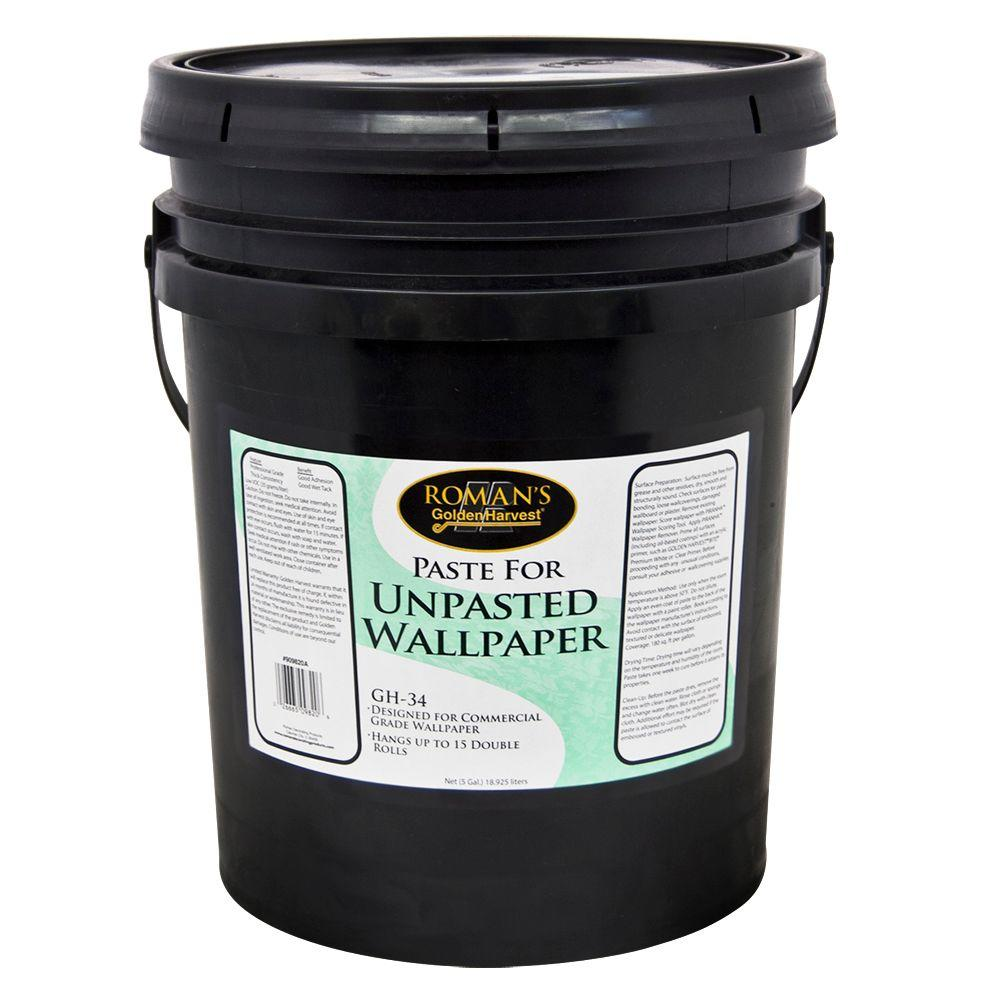 Roman GH 34 5 gal Paste for Unpasted Wallpaper 209820   The Home 1000x1000