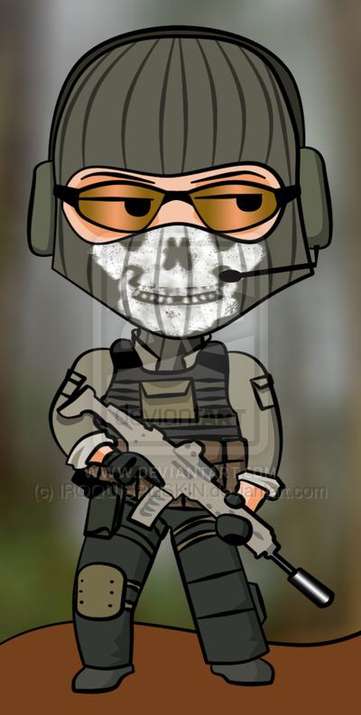 Ghost Modern Warfare 2 By Iroquispliskin On Deviantart.