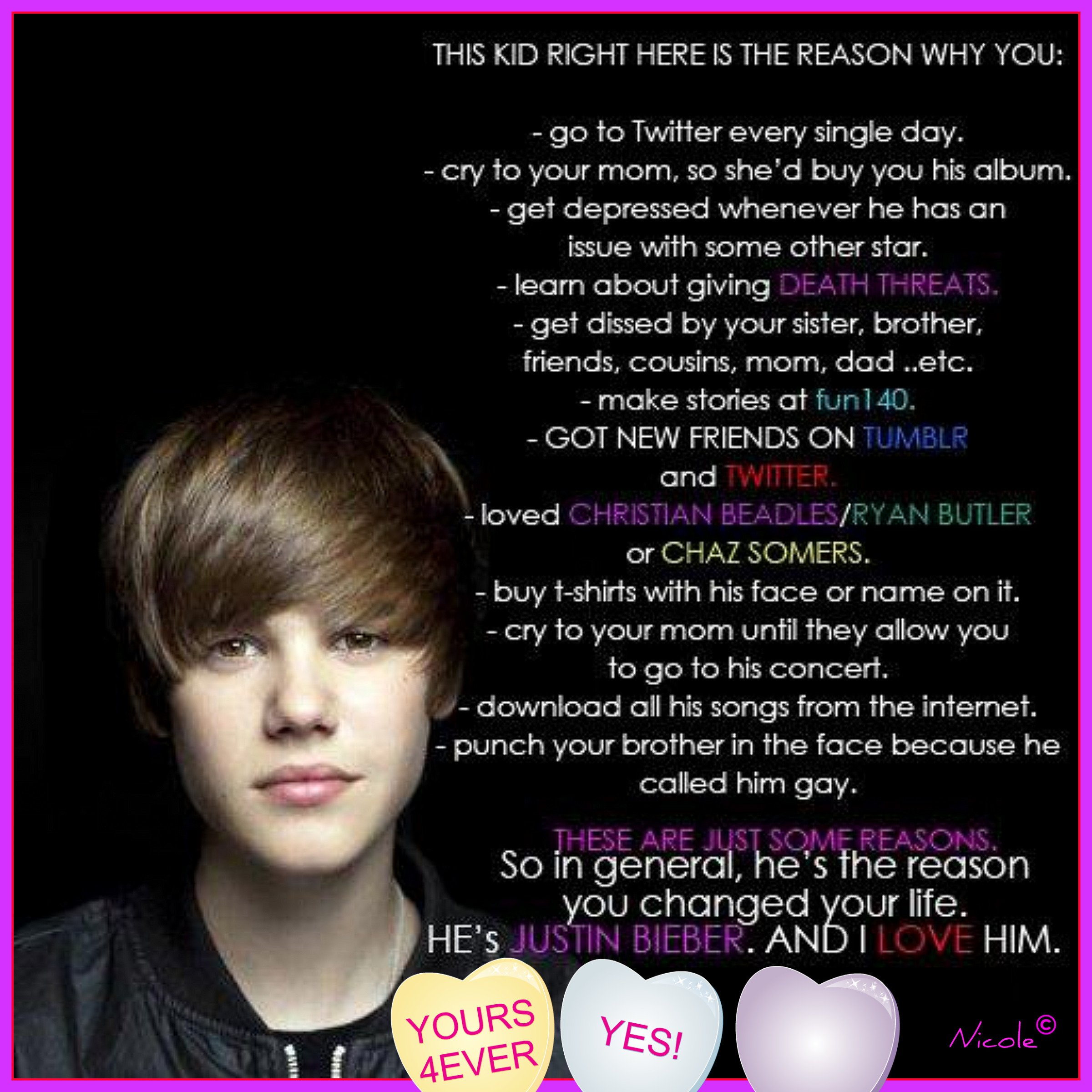 Love Yourself Wallpaper Justin Bieber : I Love Justin Bieber Wallpaper - WallpaperSafari