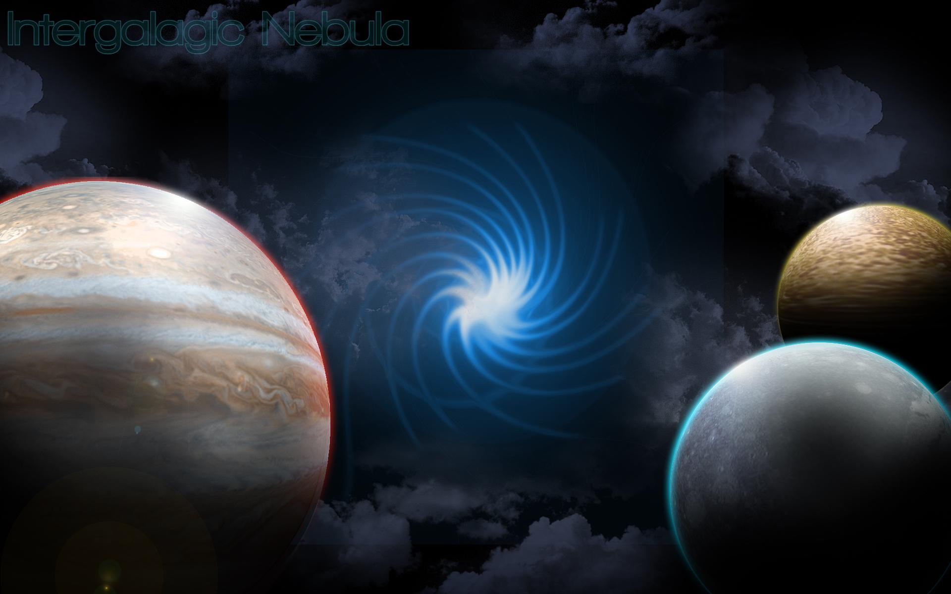 Intergalactic Nebula Wallpaper by cruzerDESIGN 1920x1200