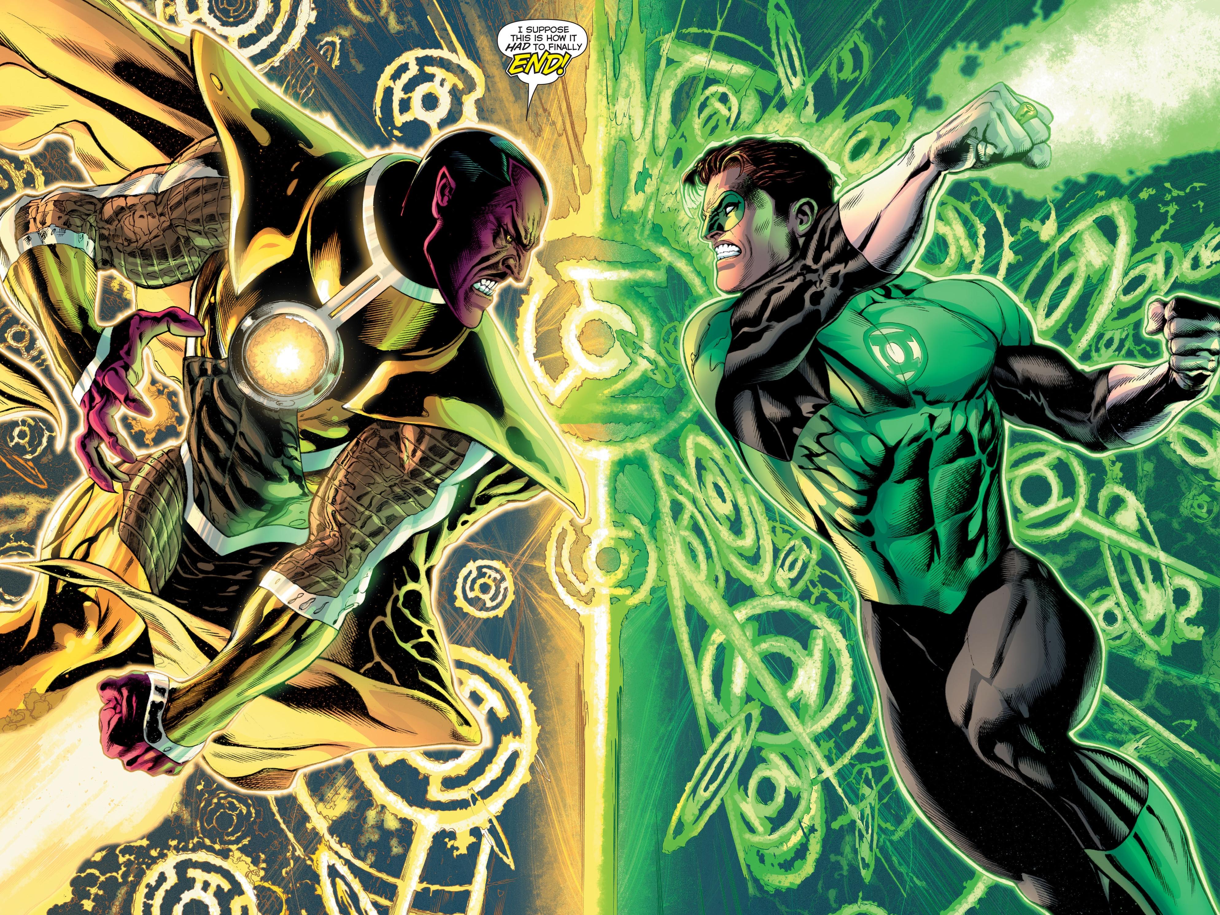 Lantern Corps Comic Comics Green Lantern Corps Superhero Wallpaper 3975x2981