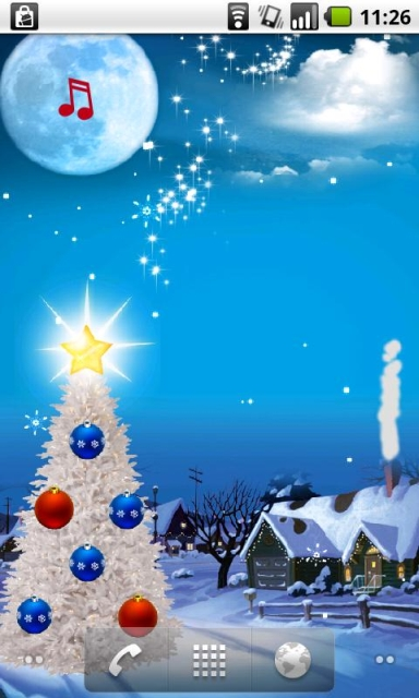 Live Christmas Wallpaper Android Mulberry Nails 384x640