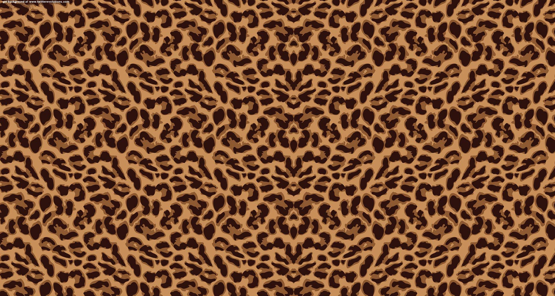 leopard print backgrounds for twitter