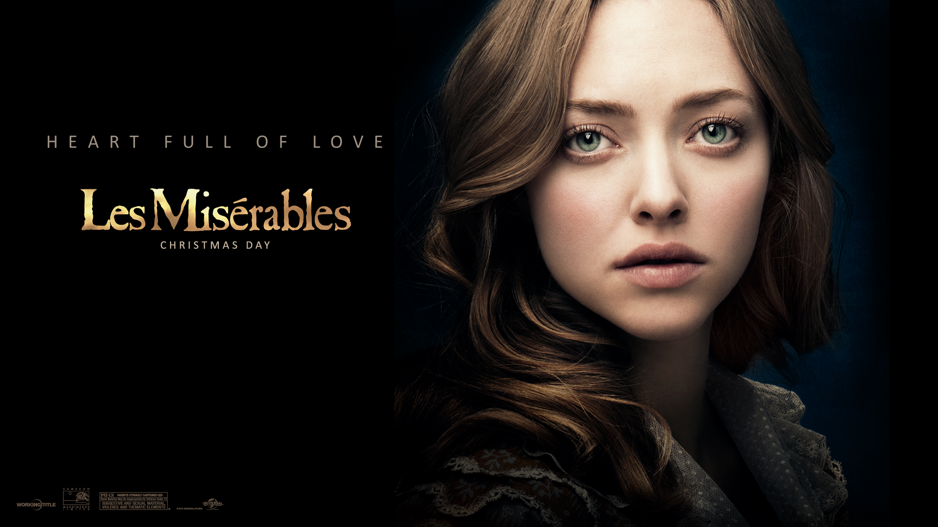 Amanda Seyfried in Les Miserables Wallpapers HD Wallpapers 1920x1080