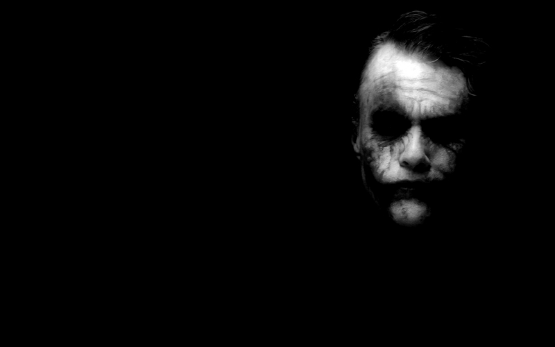 BatmanThe Joker batman the joker heath ledger 1440x900 wallpaper 800x500