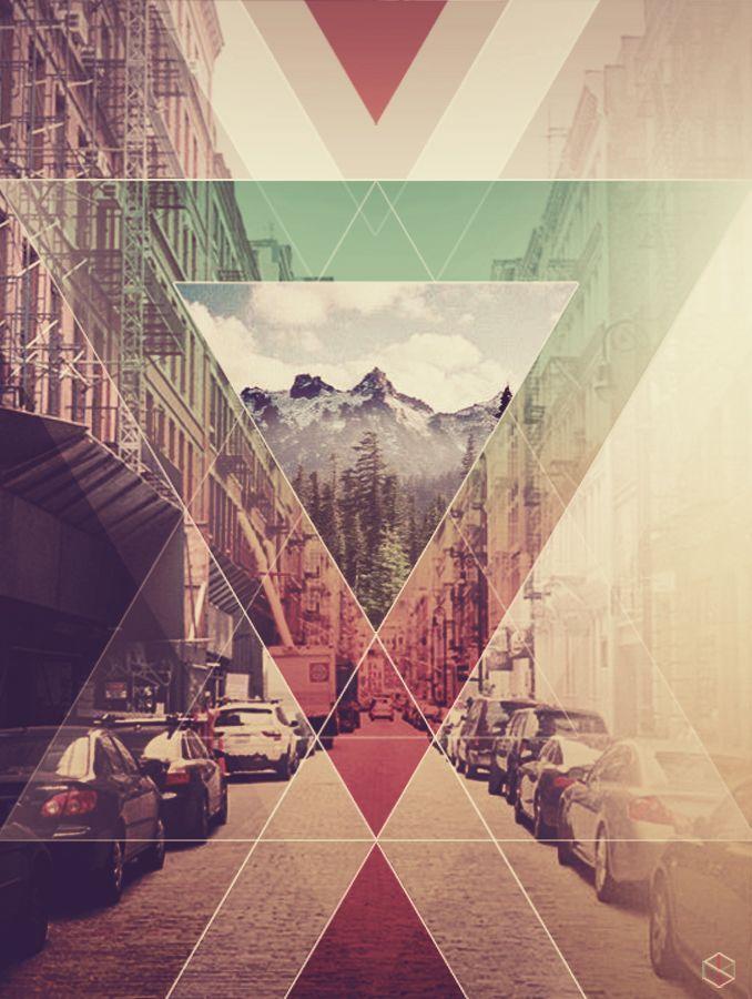 iPhone 5 Wallpaper   TrianglesDesign Geometric Graphic Design Design 678x900
