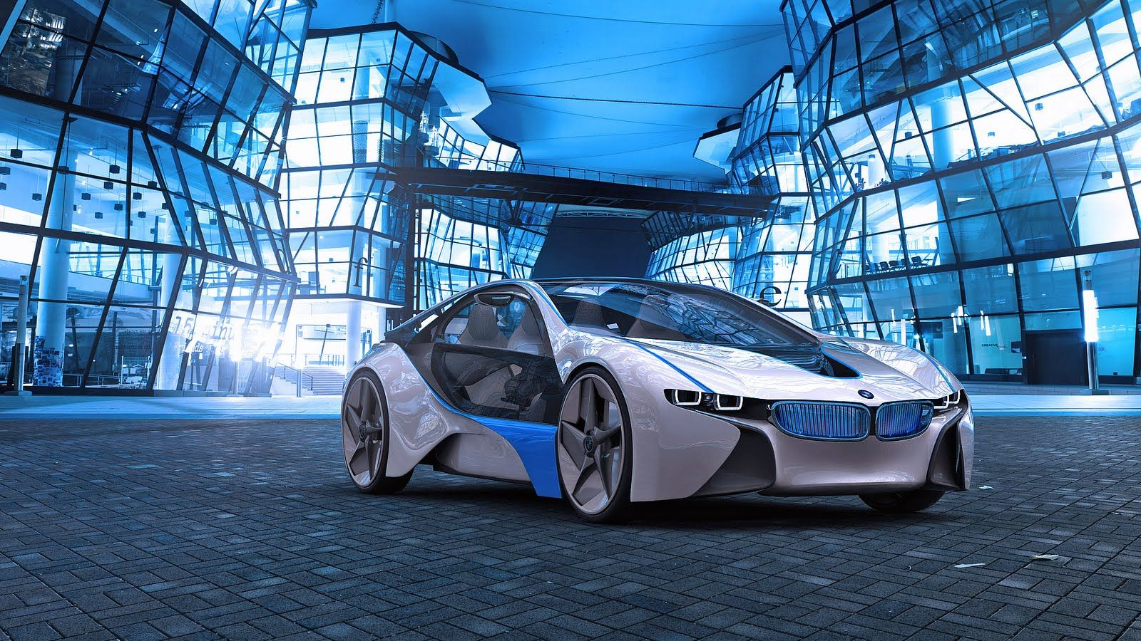 FutureArchitecture BMW Vision Future Hybrid Architecture HD 1600x900