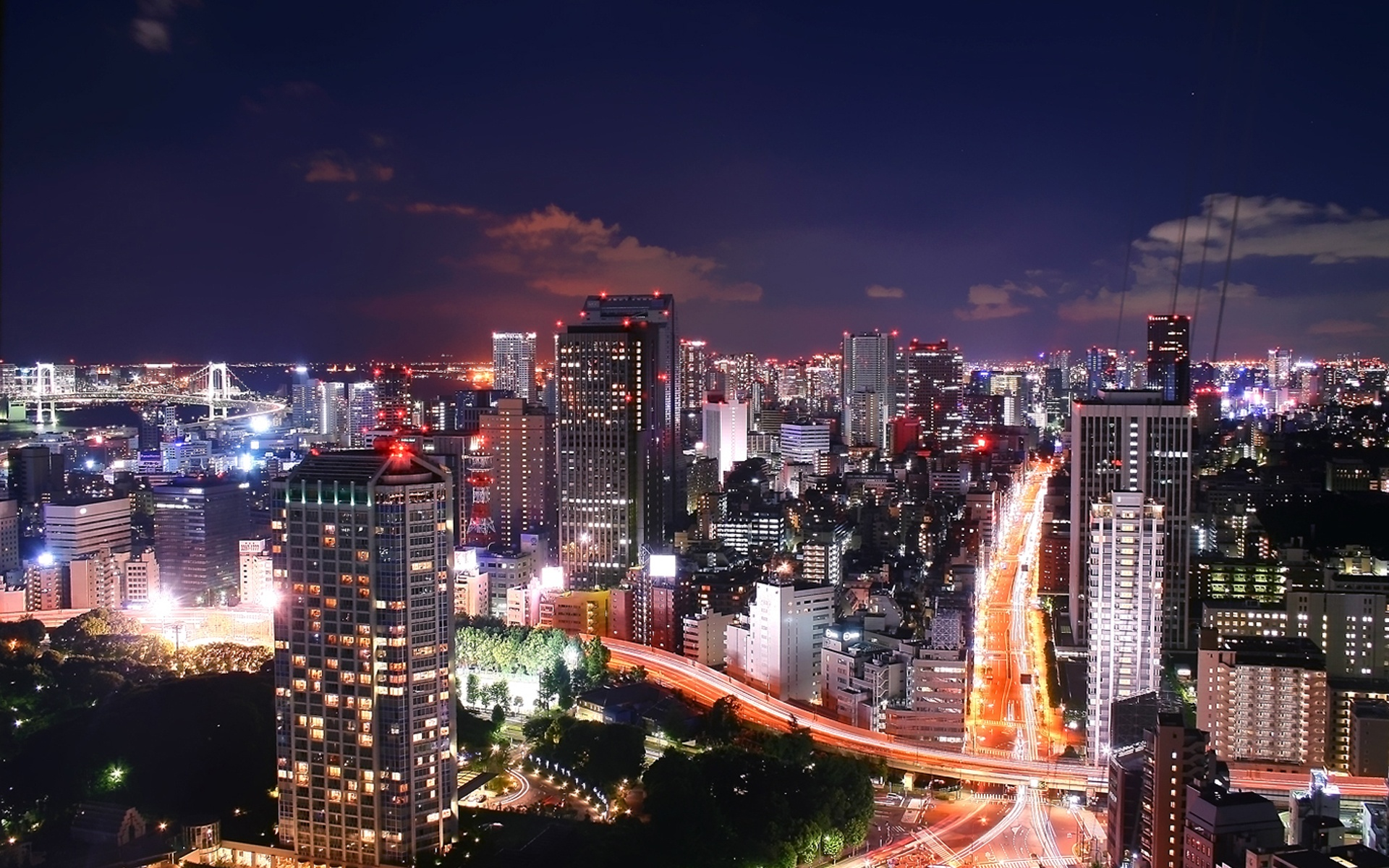 Tokyo City Night Wallpapers   1920x1200   820918 1920x1200