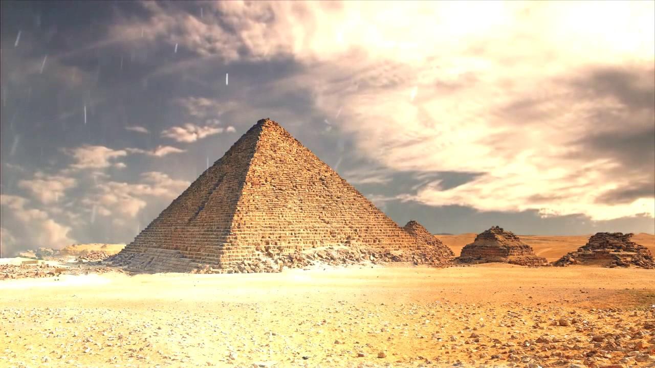 Background Video Egypt Pyramid 1280x720