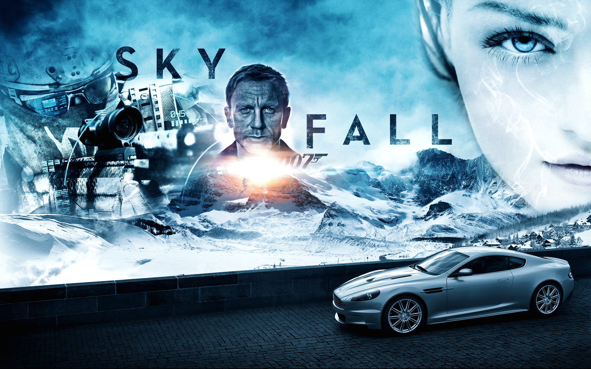 James Bond Skyfall 007 Wallpapers [2012] 1920x1200